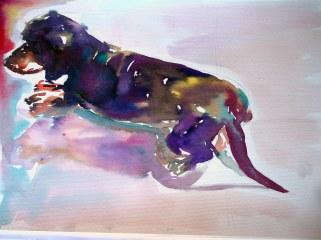 Jogo da Memória, 03, 2014 - aquarela s/ papel, 40x60 cm