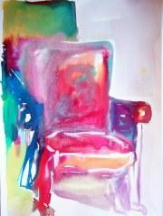 Jogo da Memória, 04, 2014 - aquarela s/ papel, 40x60 cm