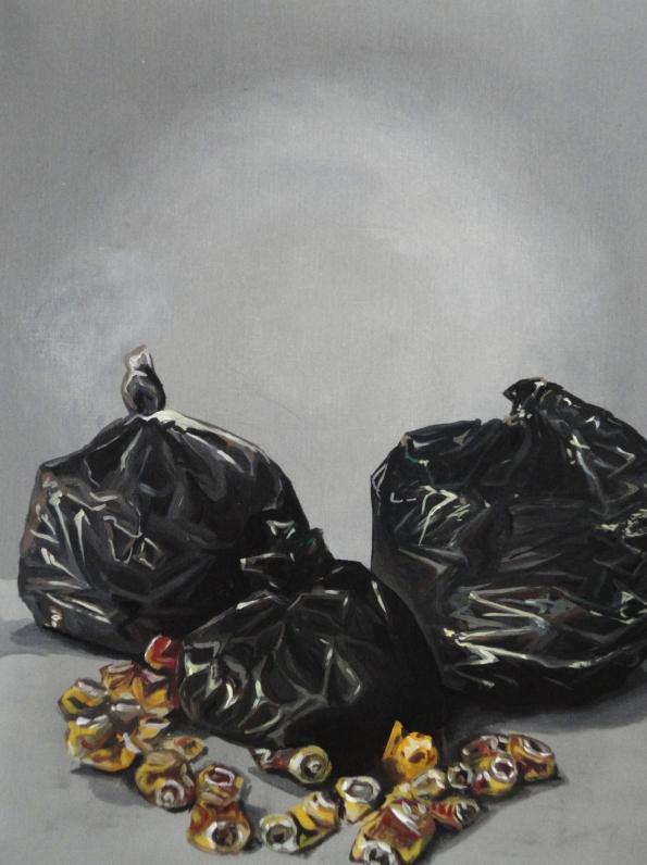 Série Achados e Perdidos 33 x 41 cm Guache e Vinílica s/ papel 2015