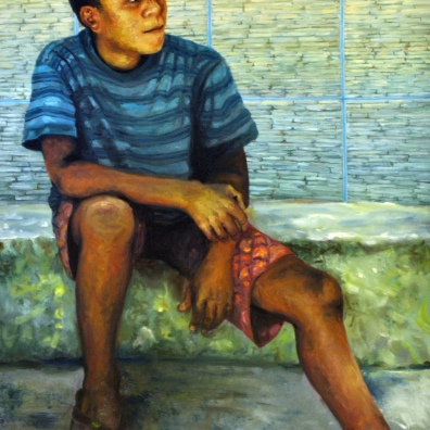 óleo s/ tela - 145 x 110 cm, 2013