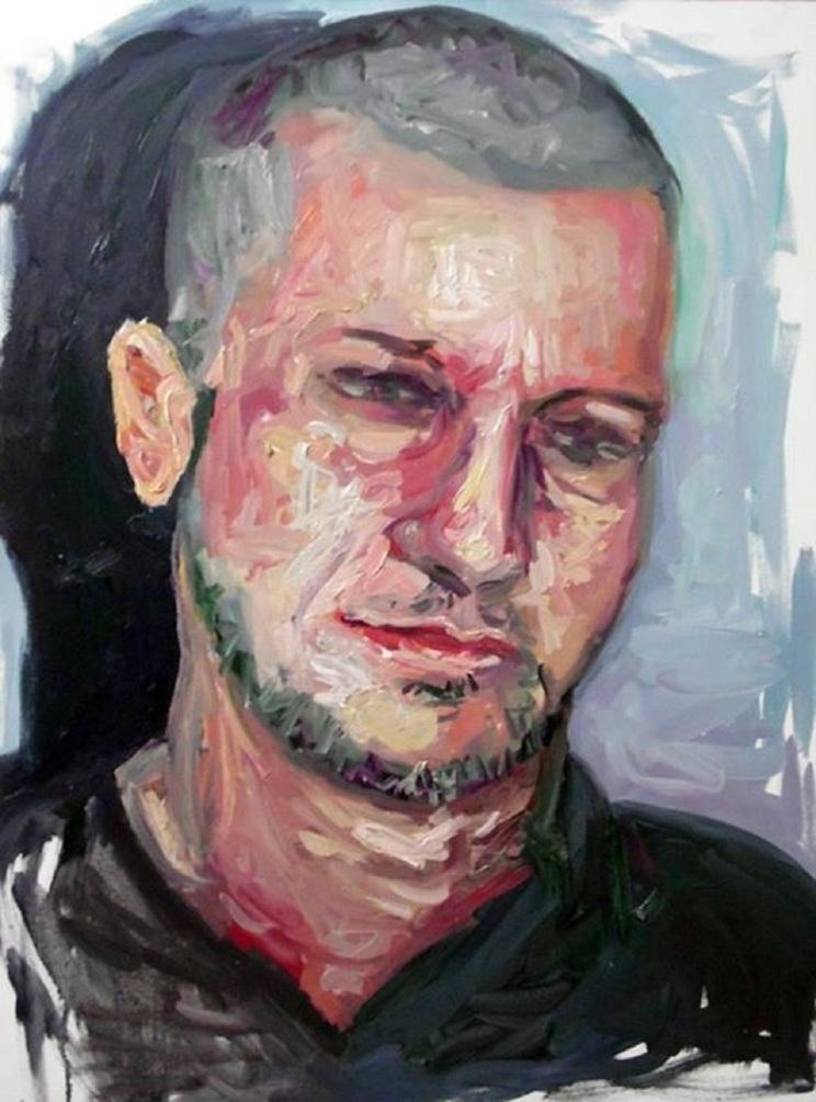 O outro Ricardo , 60 x 80 cm, óleo s/ tela 2015