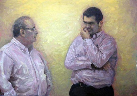 Intercurso, Óleo sobre tela, 110 x 150 cm, 2014