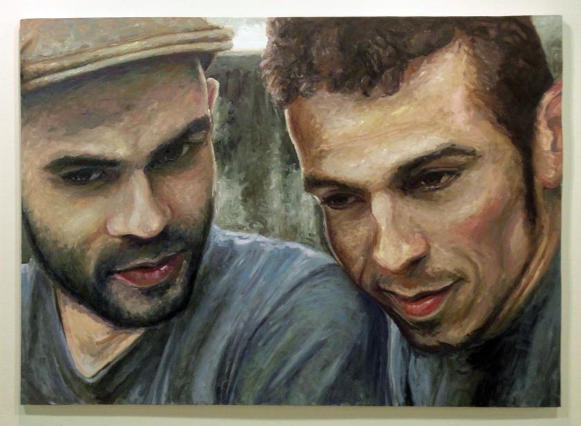 Há Horizonte, Óleo sobre tela, 170 x 120 cm, 2011