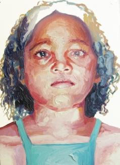 criança desaparecida 02, oleo sobre papel, 31x41 cm, 2018